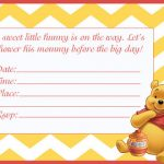 Classic Winnie the Pooh Baby Shower Invites