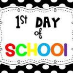 First Day of School Signs Nursery