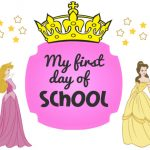 First Day of School Signs Toddler