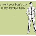 Funny Bosses Day Cards