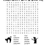 Halloween Word Search Puzzles