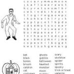 Halloween Word Searches to Print