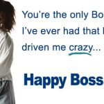 Happy Boss Day Free Printable Cards