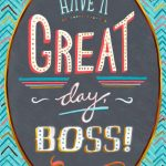 Printable Boss Day Cards Free