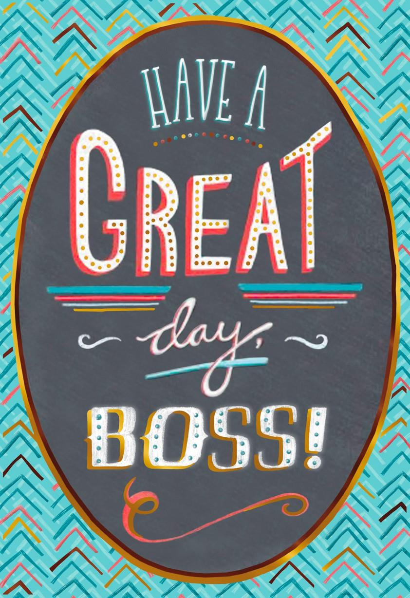 Gratifying image with free printable boss's day cards