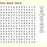 Printable Movie Word Search