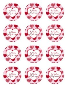 Valentine Gift Tag Template