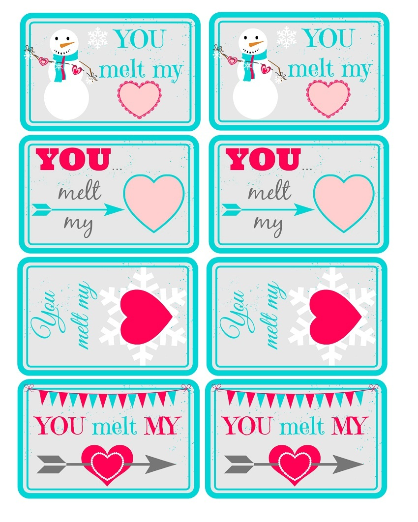 6 Lovely Printable Valentine Gift Tags | Kitty Baby Love