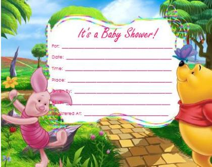 14 heart warming winnie the pooh baby shower invitations kitty winnie the pooh girl baby shower invitations filmwisefo Gallery