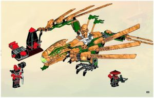 Golden Dragon Lego Instructions