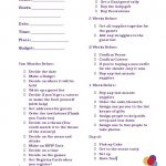 Hosting a Baby Shower Checklist