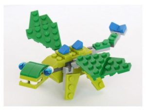 How to Build a Green Lego Dragon Instructions