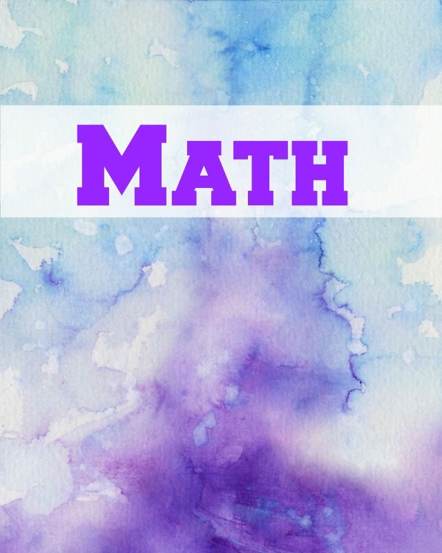 15 Best Images About Notebook Covers Wallpaper Etc On: 12 Math Binder Covers
