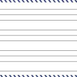 Template for Luggage Tag