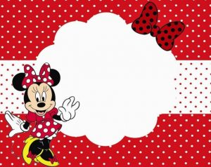 Customized Minnie Mouse Birthday Invitations