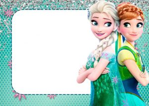 Free Frozen Printable Invitations