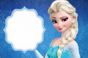 Frozen Elsa Invitations