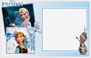 Frozen Invitations Printable