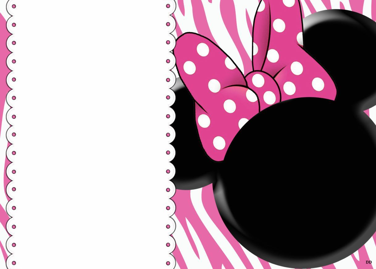 32 Superb Minnie Mouse Birthday Invitations Kittybabylove Com