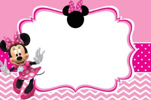 Minnie Mouse Custom Birthday Invitations