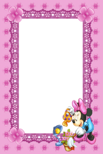 Minnie Mouse First Birthday Invitation
