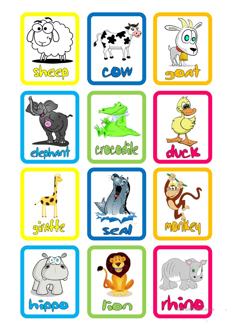 This is a picture of Luscious Printable Flashcards for Babies