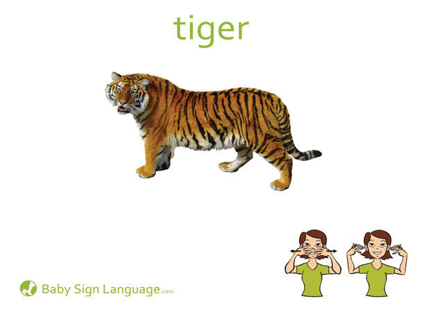 This is a picture of Exceptional Asl Animal Signs Printable