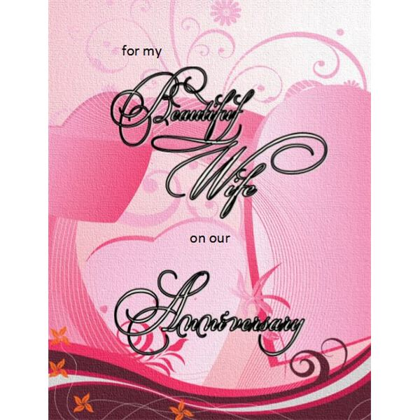 husband anniversary card free pdf