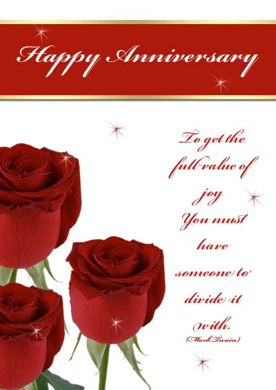 Crafty image pertaining to free printable anniversary cards for husband