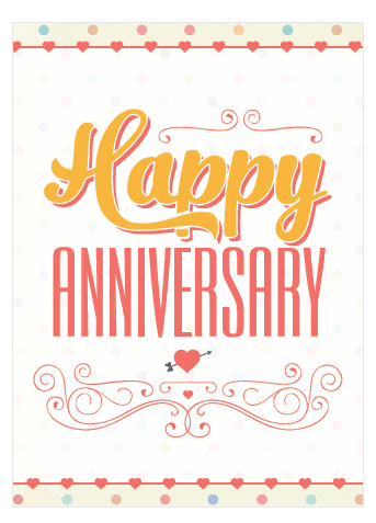 graphic regarding Free Printable Anniversary Cards for Parents identified as 30 Cost-free Printable Anniversary Playing cards