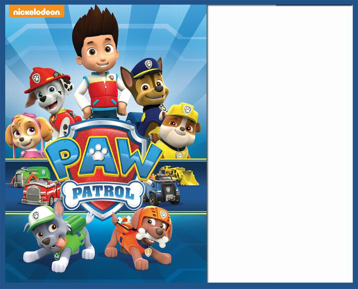 8 Pawsome Paw Patrol Birthday Invitations Kitty Baby Love