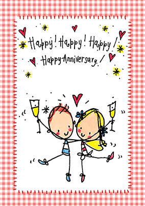 It is an image of Punchy Funny Printable Anniversary Cards