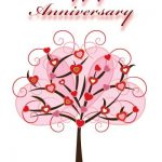 Wedding Anniversary Card for Wife Free Printable