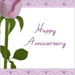 Wedding Anniversary Cards for Parents Printable