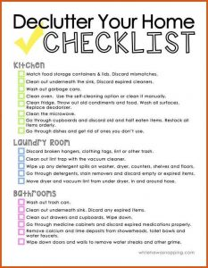 Best House Cleaning Checklist