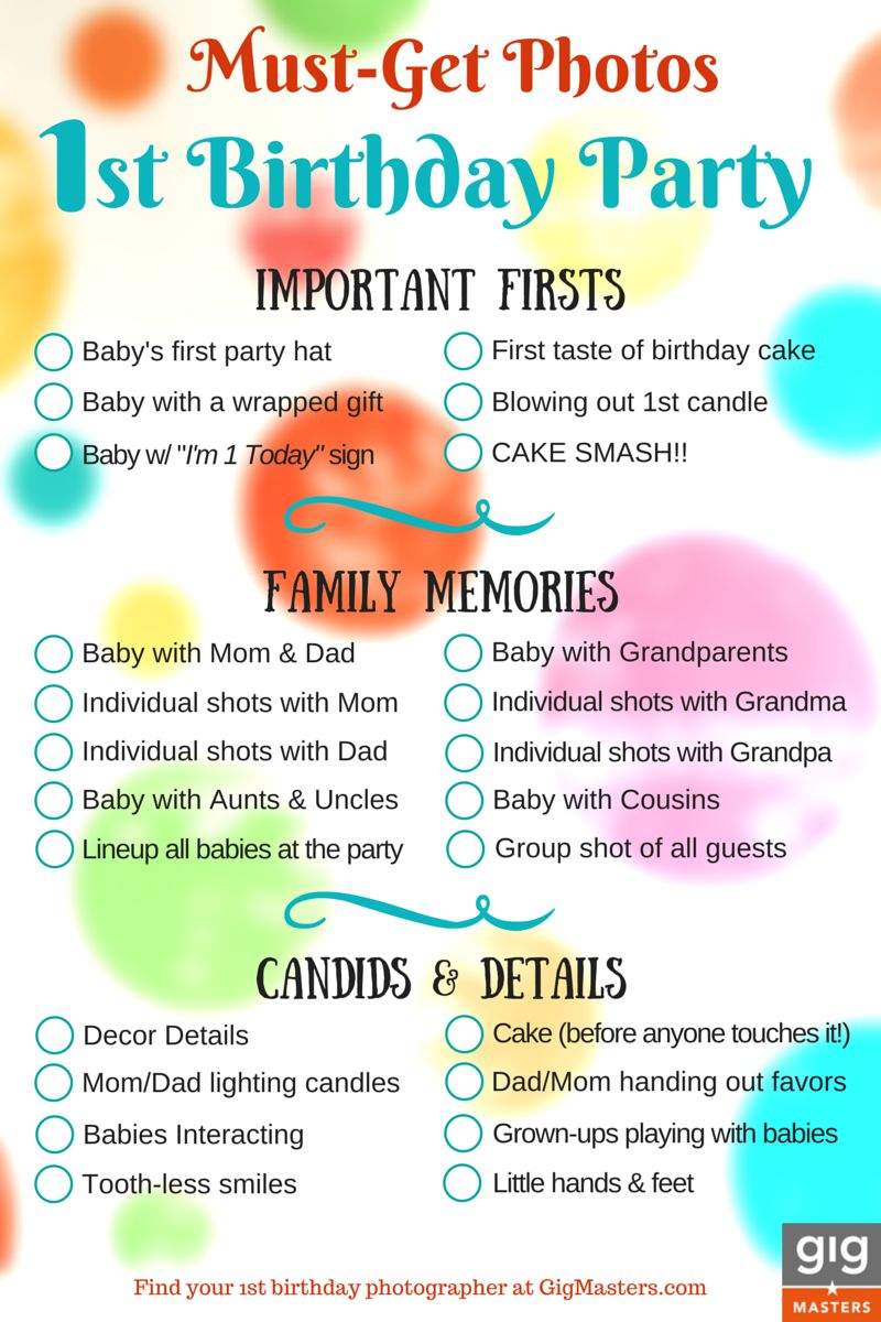26 Life-easing Birthday Party Checklists | KittyBabyLove.com