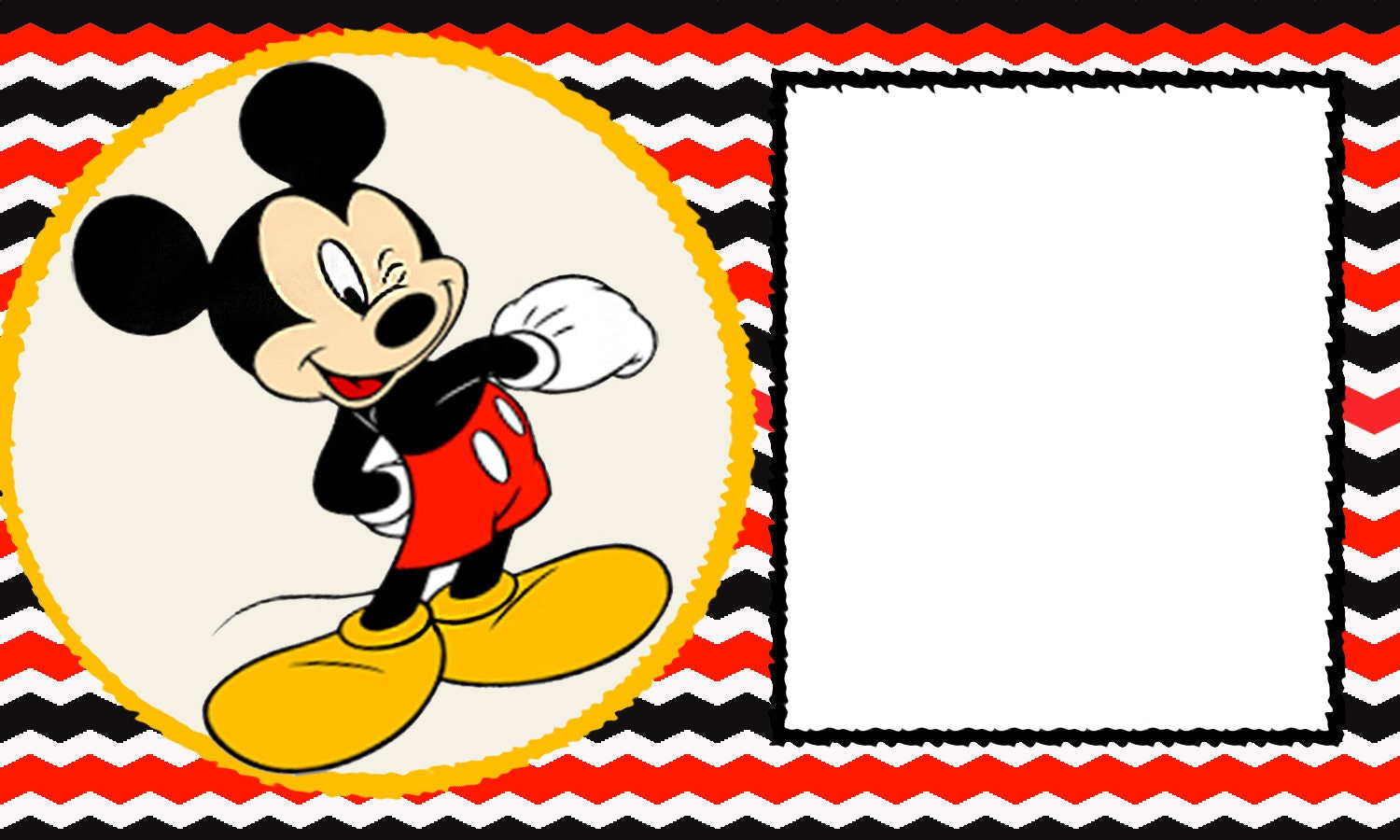 Impertinent image throughout free printable mickey mouse invitations