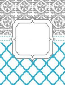 Free Printable Wedding Binder Covers