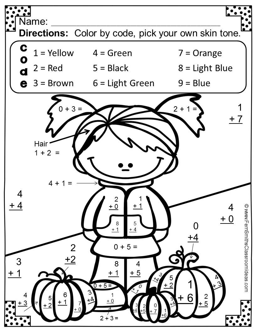19 eerie halloween colornumber printable pages for free | kitty