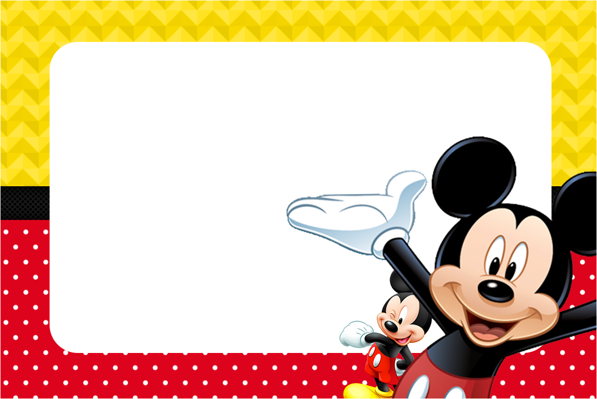 25 Incredible Mickey Mouse Birthday Invitations | Kitty Baby Love
