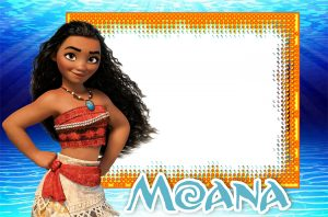 Moana Birthday Invitation Template