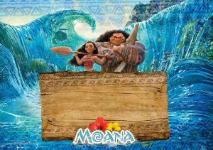 Moana Birthday Invitations Free