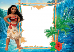 Moana Birthday Invitations Free Printable