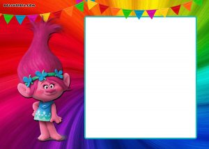 Trolls Birthday Invitations Free
