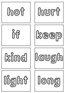 3rd Grade Sight Words Flash Cards