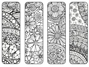 Bookmarks to Color and Print