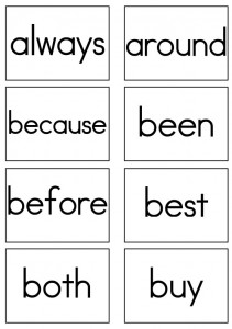 It is a graphic of Critical 2nd Grade Sight Words Printable