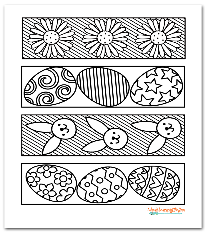 65 Fun Blank Bookmarks to Color For You | KittyBabyLove.com