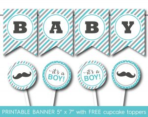 Free Printable Baby Shower Banner Letters