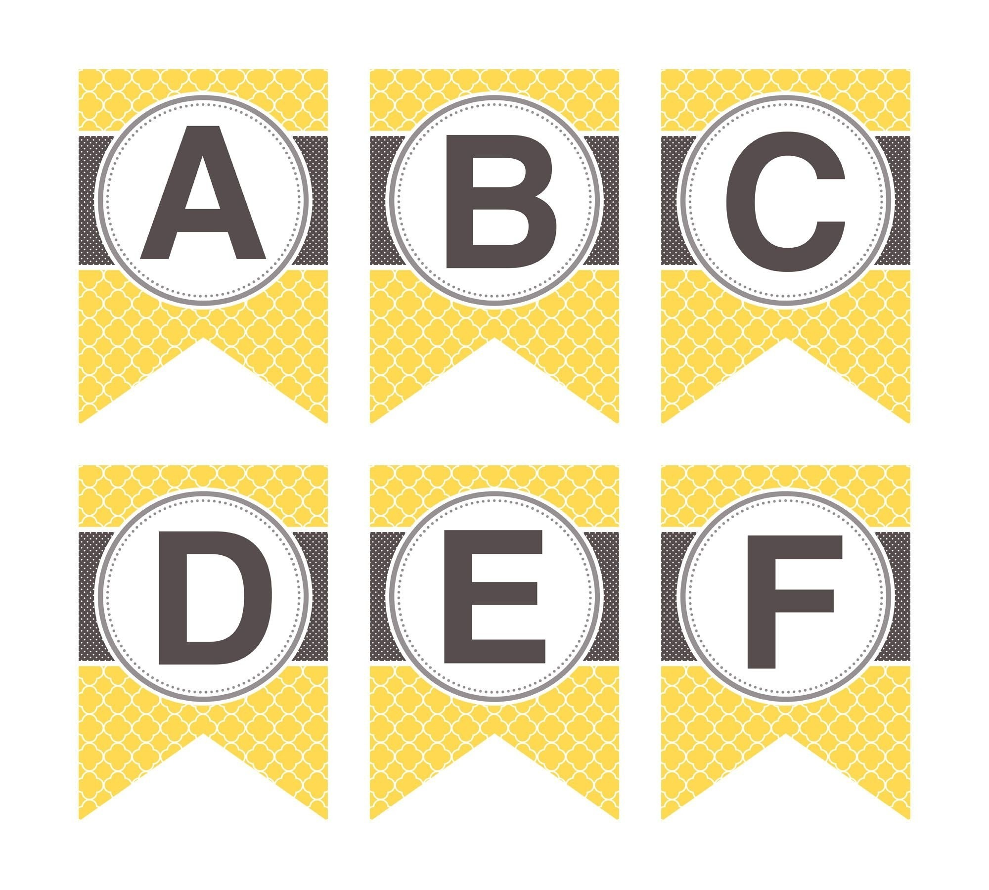 picture relating to Free Printable Banner Letters Pdf called Clipart Letters For Banners